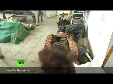 Bodies of anti-Kiev fighters piled in Donetsk morgue