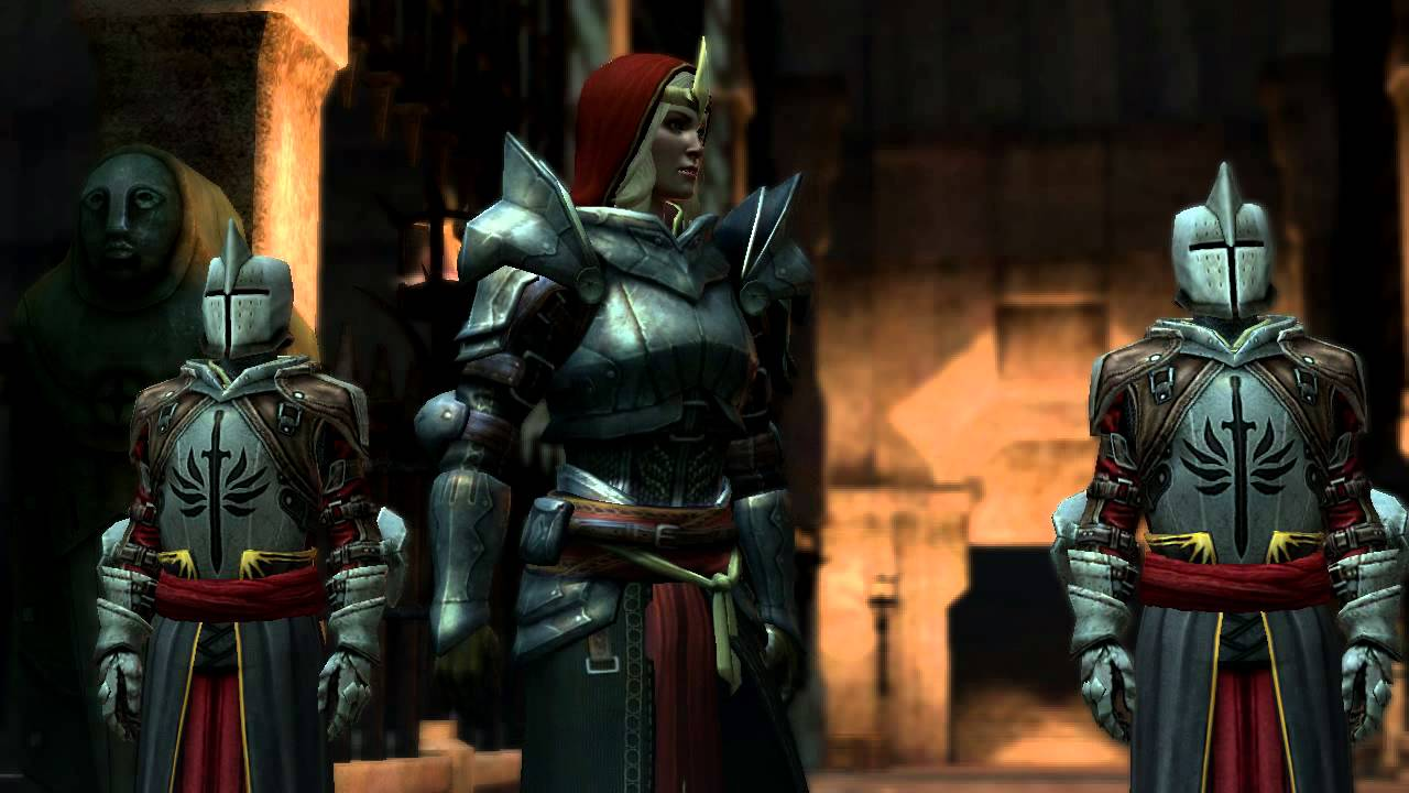 Dragon Age 2: - Omg, A Hug! (Hawke protects Bethany from Meredith)