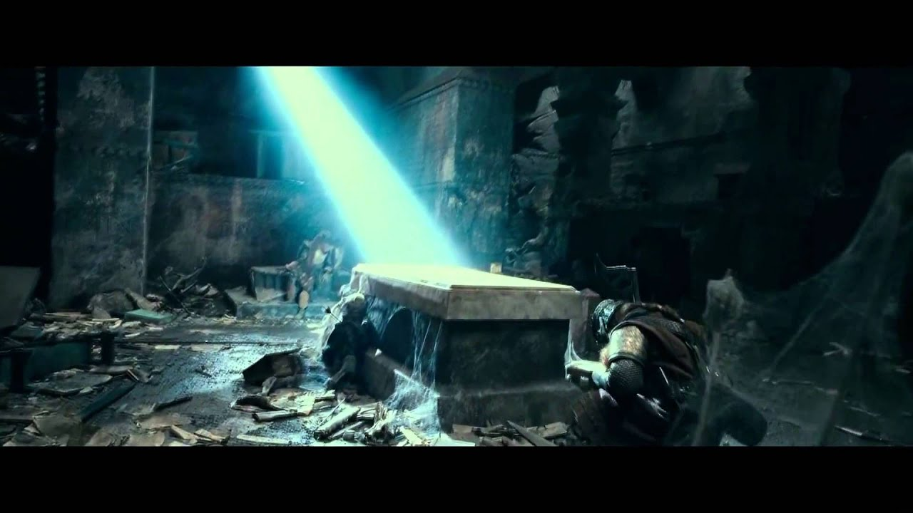 Gandalf In The Tomb In The Fellowship Of The Ring