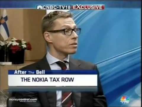 Will strongly raise Nokia tax issue with India: Finland
