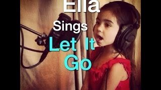 Ella Sings Let It Go