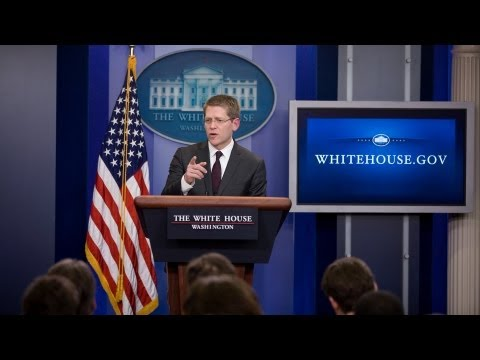 5/8/13: White House Press Briefing