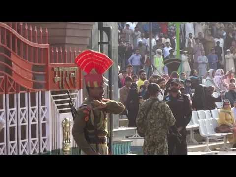 Attari ( Wagah) Border Ceremony