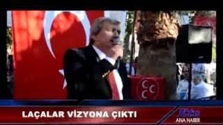 MESUT BAYRAM LAÇALAR MHP'DEN YUNUS EMRE BELEDİYESİNE ADAY