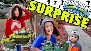 Skylanders Toy Surprise FunPlay HideAway Skylands