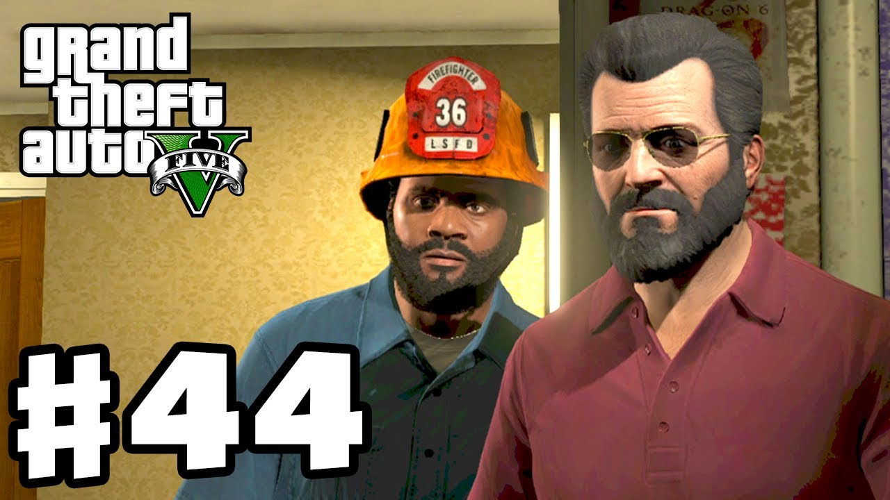 grand theft auto 5 gameplay walkthrough part 44 the bureau raid gta 5 xbox 360 ps3
