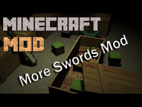 Minecraft Mod : More Swords Mod | 1.7.2 / 1.6.4 | Download