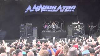 ANNIHILATOR - Fan-Filmed Live Video From Sweden Rock Festival