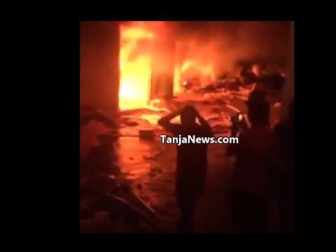 بالفيديو.. حريق كاسابراطا
