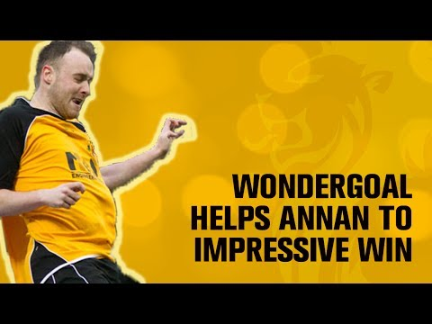 Davidson wondergoal helps Annan seal impressive win on the road