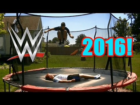 Top 50 WWE Finishers of 2016 on Trampoline