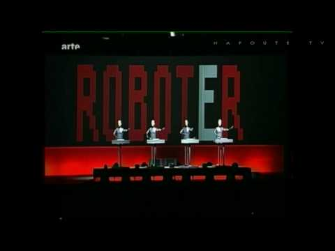 Kraftwerk &quot;Die roboter&quot; (re-synced) Live@Hurricane festival 2009.06.19