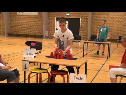 Sport Stacking KSSK Fyns Open Denmark 2013