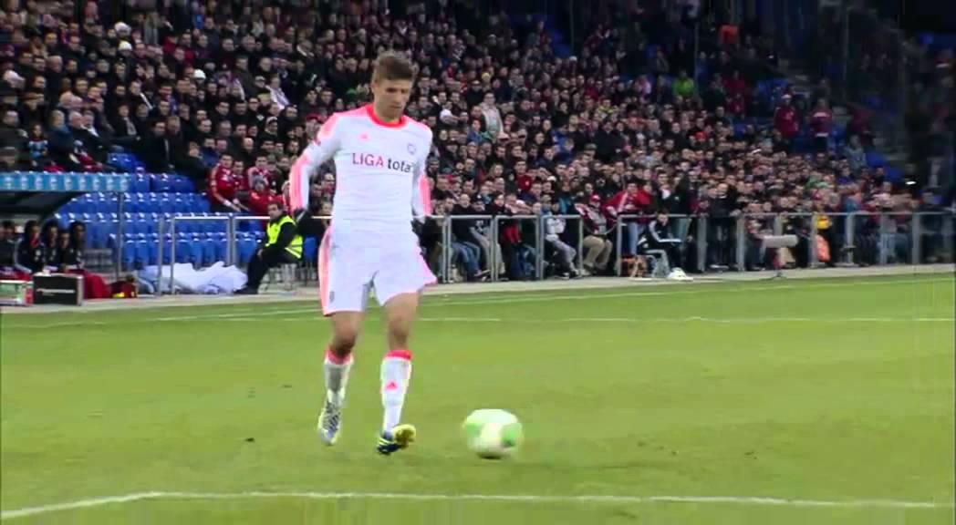 FC Basel vs FC Bayern  Tor von Bastian Schweinsteiger