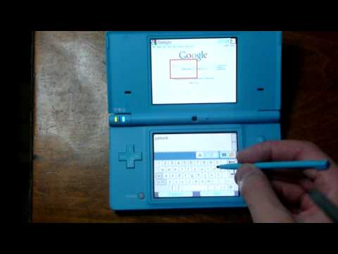 Nintendo DSi Internet Browser