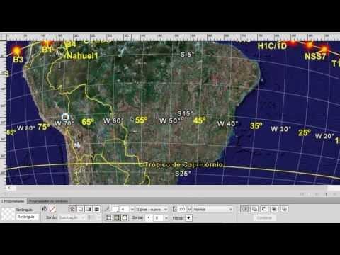 Diferença entre East  e West (70W ou  70E). Apontamento de Antenas #2.