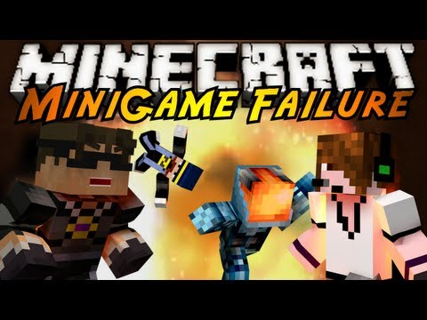 Minecraft Mini-Game : COMPLETE FAILURE!