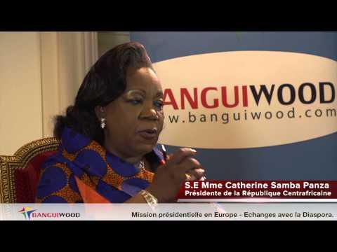 Ep31: (4e partie) Intervention de la Présidente Catherine SAMBA-PANZA à Paris