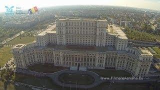 Drona care filmează Bucureştiul. Imagini spectaculoase de la înălţime