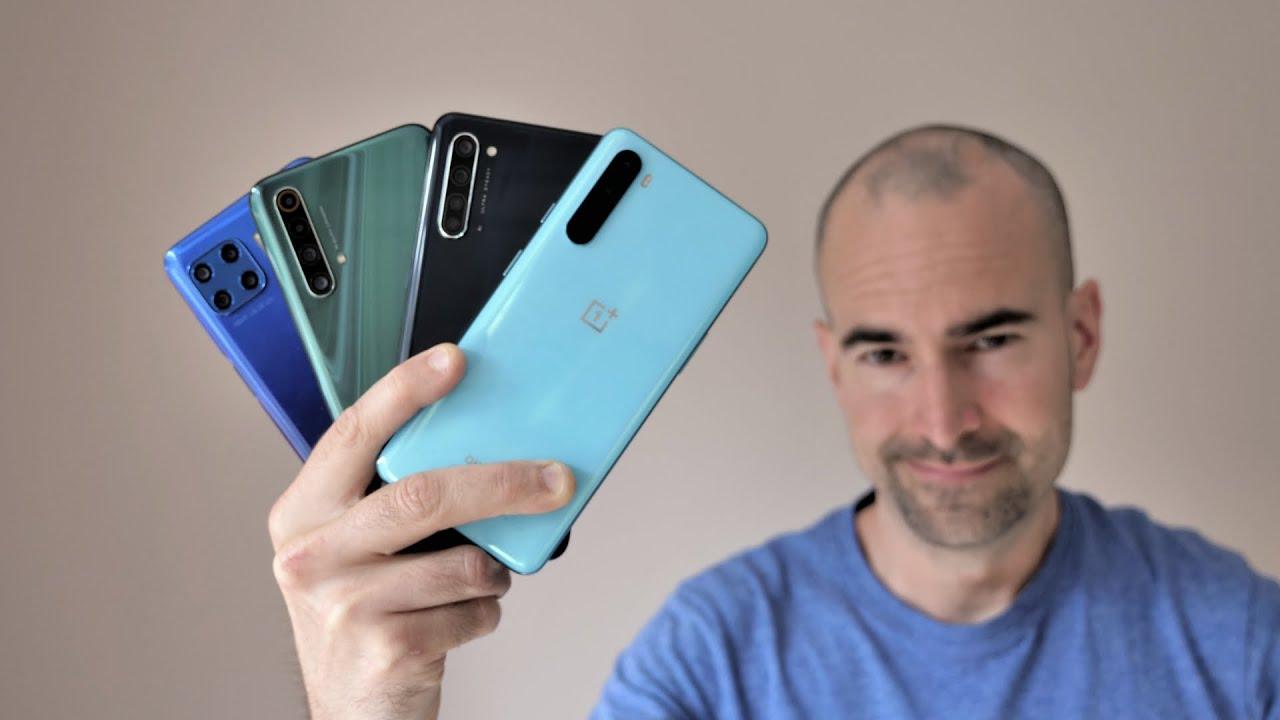 OnePlus Nord vs Moto G 5G Plus vs Realme X50 5G vs Oppo Find X2 Lite