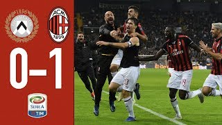 Highlights Udinese 0-1 AC Milan - Matchday 11 Serie A TIM 2018/19