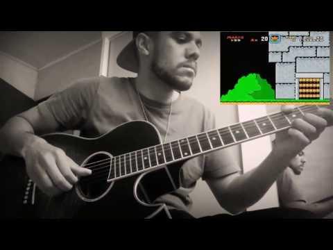 Super Mario World - Castle theme FINGERSTYLE + Tab