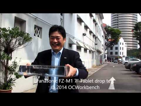 Panasonic ToughPad FZ M1 Windows 8.1 Pro, Rugged Tablet Drop Test OCWorkbench videos