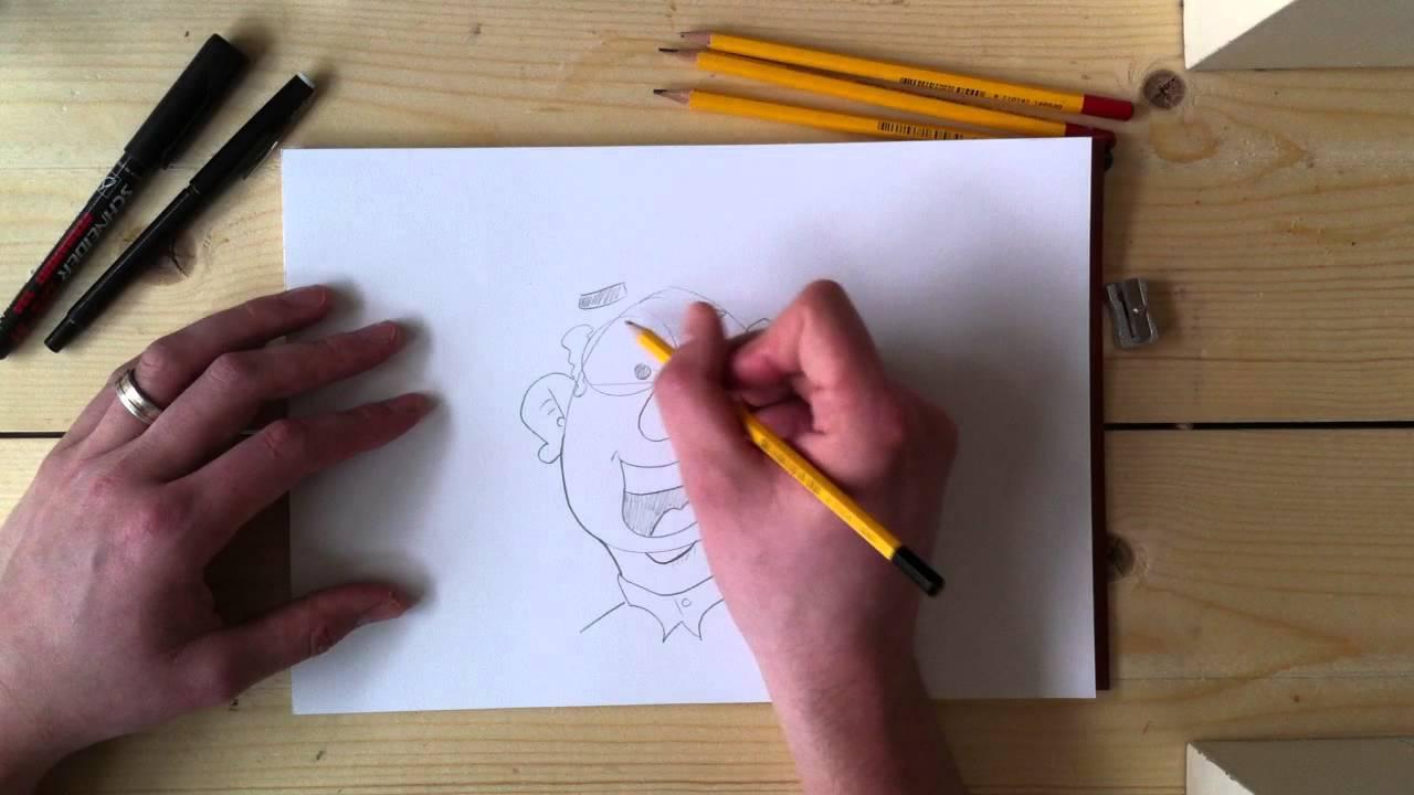 Cartoons Leren Tekenen Na Teken Oefening 1 Youtube