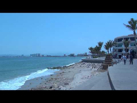 Malecon Puerto Vallarta Mexico
