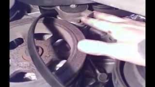 Water Pump Replacement Dodge Grand Caravan 3.3L V6 2003