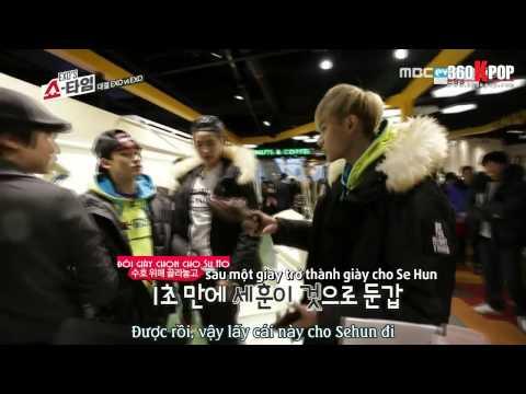 [Vietsub] 140130 EXO's Showtime EP 10 [EXO Team]