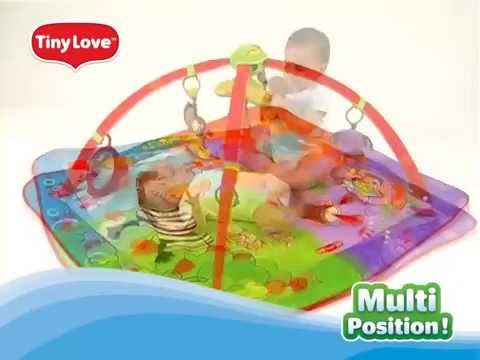 Tapis d 39 veil gymiini move and play t9850 de tiny love youtube - Tapis d eveil tiny love move and play ...