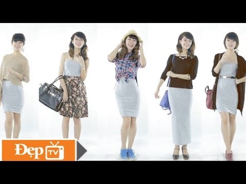 5 cách biến tấu khăn ống thành váy xinh - Le Media JSC [Official]