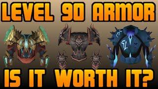 Level 90 Power Armor: Is It Worth It? [Runescape 2014