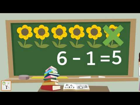 Learn Subtraction For Children | Maths For Kids, Kindergarten - Animated Learning Video