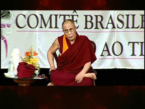 Dalai Lama Curitiba 1999 Patience and Tolerance