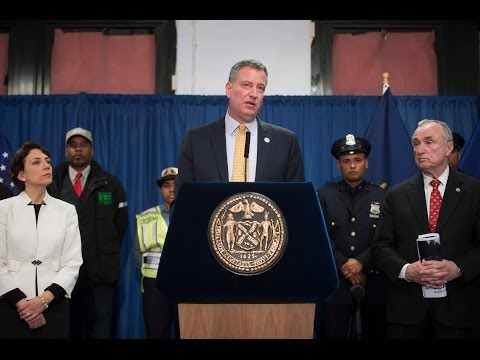 Mayor de Blasio Releases 'Vision Zero' Action Plan