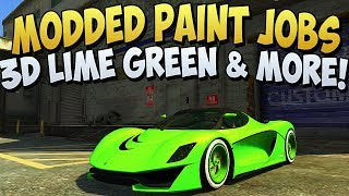 GTA 5 Rare Cars Modded Car Paint Jobs Secret Car Paint