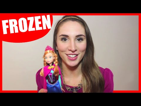 Frozen Movie 2013 Toys: Disney Princess Anna Doll Unboxing & Full Review