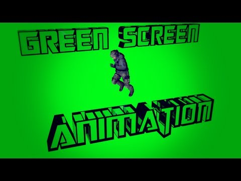 New MW3 animations # Run   Green Screen