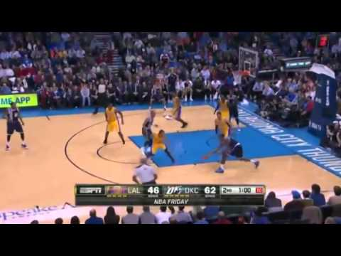 LA Lakers vs Oklahoma City Thunder   December 13  2013   Full Game Highlights   NBA 2013 14 Season