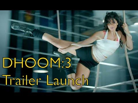 DHOOM:3 Theatrical Trailer Launch- Aamir Khan | Abhishek Bachchan | Katrina Kaif | Uday Chopra