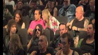 Carlsberg stunts with bikers in cinema