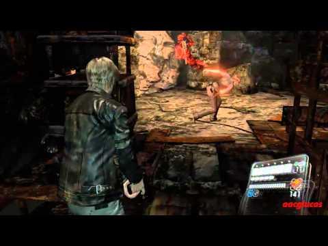 Resident evil 6 Infierno Campaña Leon Capitulo 3 Rango S