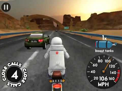 Highway rider -ep.9 -fly over the cops and to space or not