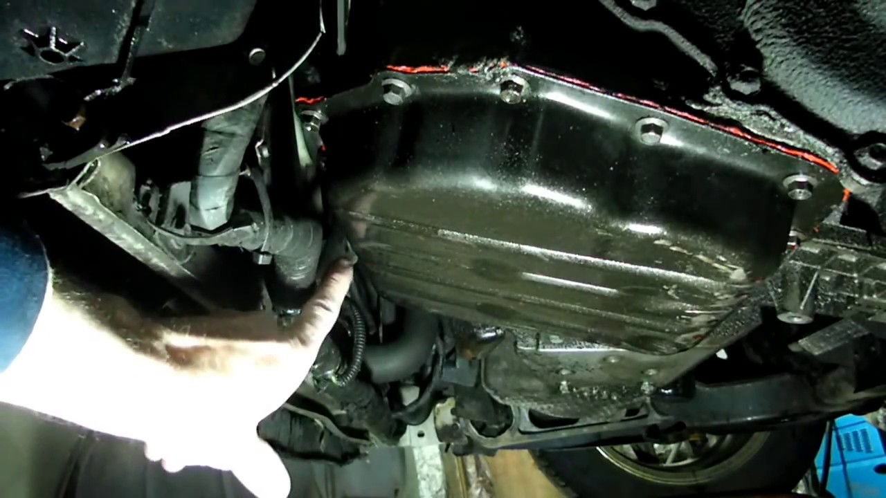 Transmission Control Solenoid Replacement - YouTube