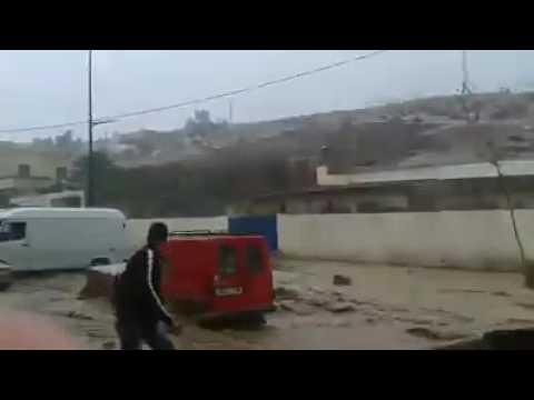 فيديو: أمطار طوفانية تغرق مولاي ادريس زرهون