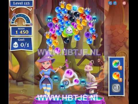 Bubble Witch Saga 2 level 115