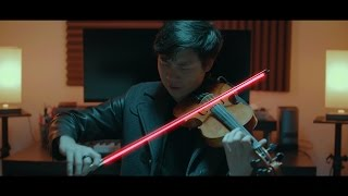 The Weeknd ft. Daft Punk - (Violin Looping Pedal Cover)