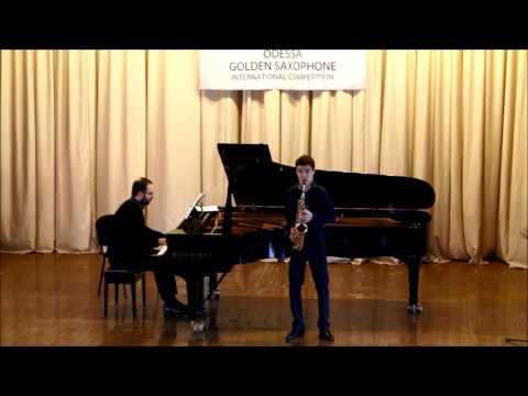 Golden Saxophone 2015 – Valentin Kovalev – Alfred Desenclos Prelude cadence,et finale
